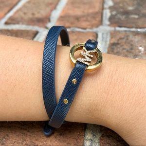 Michael Kors Double Wrap Buckle Bracelet